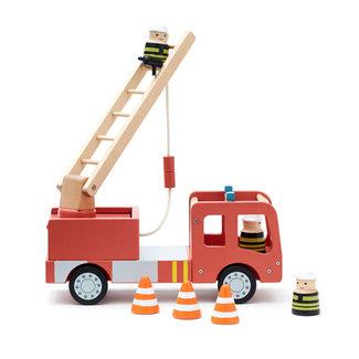 Kids Concept Feuerwehrauto Holz AIDEN