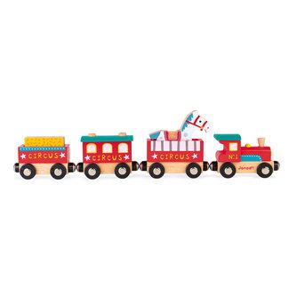 Janod Circus trein hout