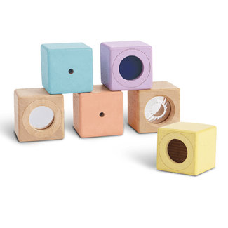 PlanToys Sensory Blocks Pastel