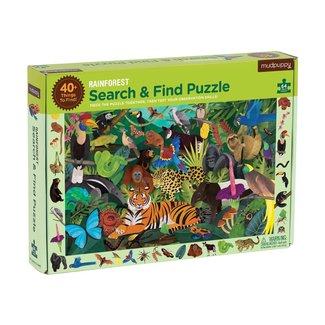 Mudpuppy Puzzle Suchen & Finden Dschungel