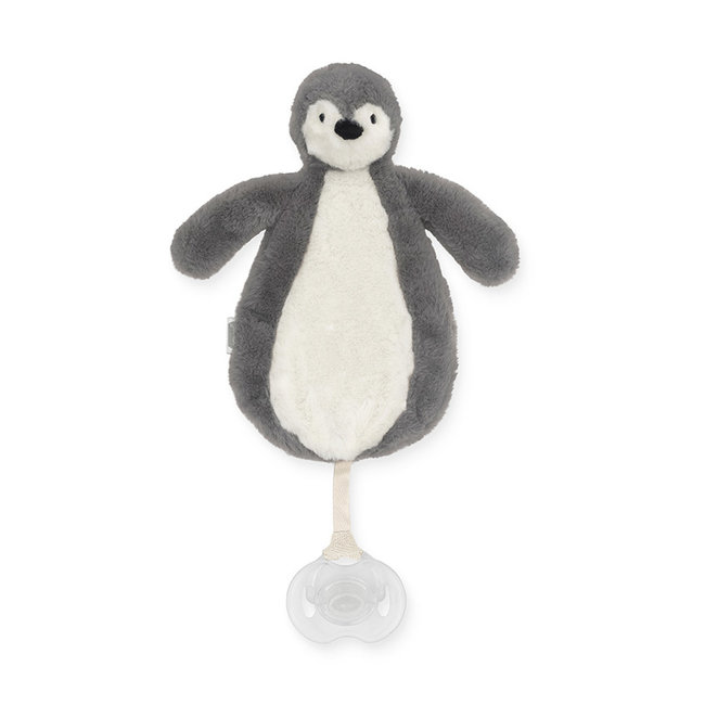 Jollein Pacifier Holder Penguin Grey