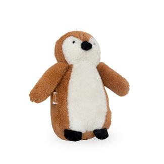 Jollein Kuscheltier Pinguin Braun
