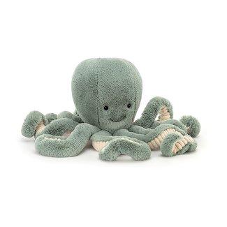 Jellycat Octopus Odyssey 50 cm Knuffel Groen