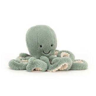 Jellycat Octopus Odyssey 23 cm Knuffel Groen