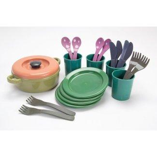 Dantoy Tableware Set Green Bean