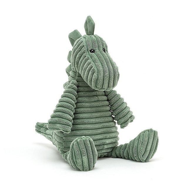 Jellycat Dino Cordy Roy Knuffel Groen 38 cm