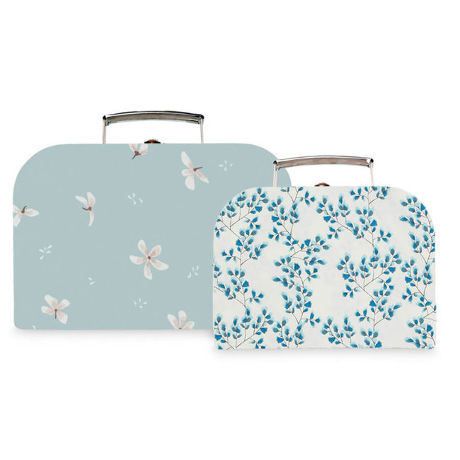 Cam Cam Copenhagen Suitcase Windflower Blue