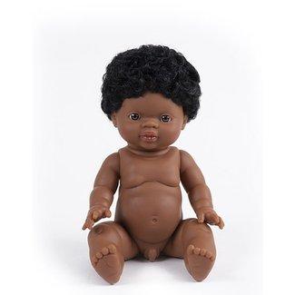 Minikane Doll Jaro Gordi Black Hair