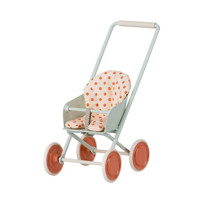 Maileg Kinderwagen Micro Blau