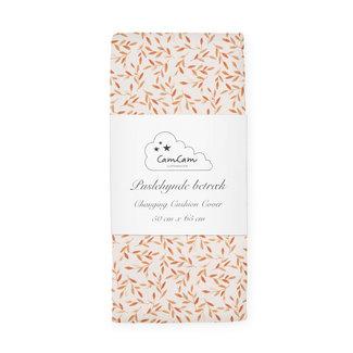 CamCam Copenhagen Aankleedkussenhoes Caramel Leaves