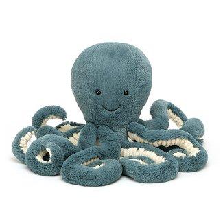 Jellycat Octopus Storm 50 cm Knuffel Blauw