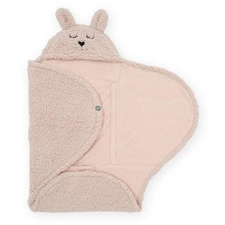 Jollein Einschlagdecke Bunny Pale Pink