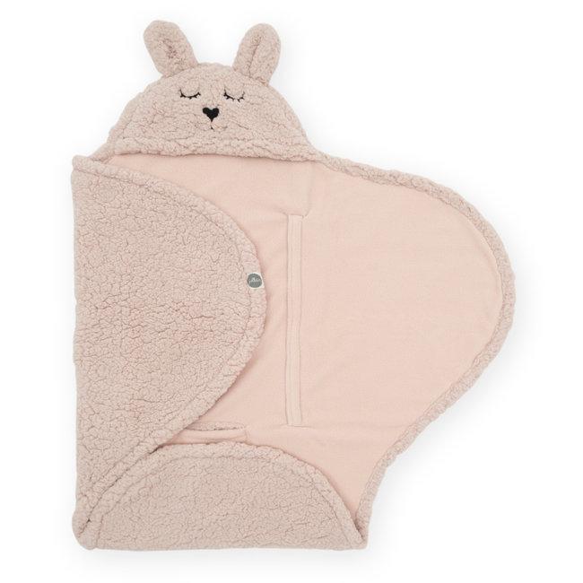 Jollein Wrap Blanket Bunny Pale Pink