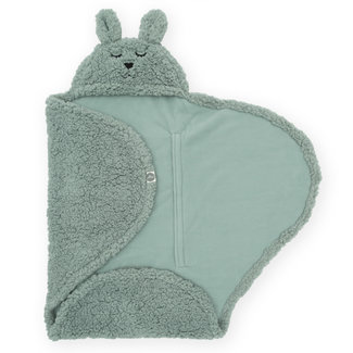 Jollein Wrap Blanket Bunny Ash Green
