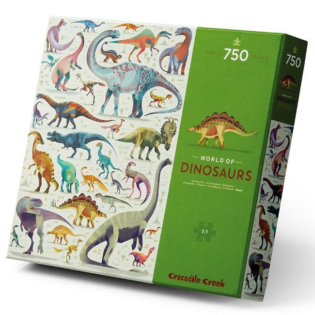 Crocodile Creek Puzzle Dinosaurier 750 Teile