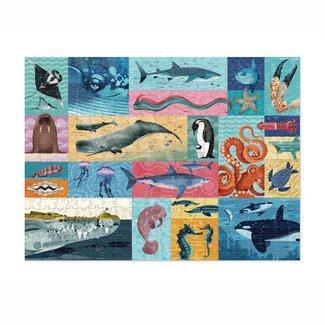 Crocodile Creek Puzzle Giants Ozeantiere 500 Teile