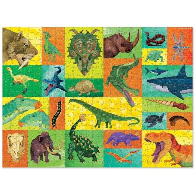 Crocodile Creek Puzzle Giants Prähistorie 500 Teile