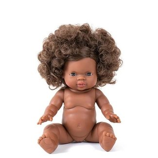 Minikane Puppe Charlie Gordi Afro Haare