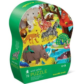 Crocodile Creek Puzzle Safari 72 Teile