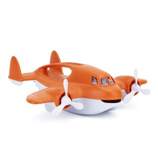 Green Toys Löschflugzeug Orange
