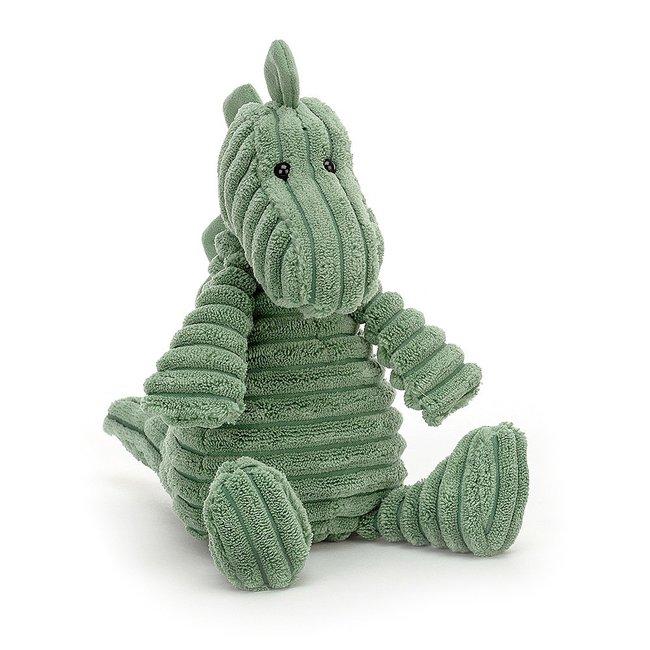 Jellycat Dinosaurier Cordy Roy Kuscheltier Grün 26 cm