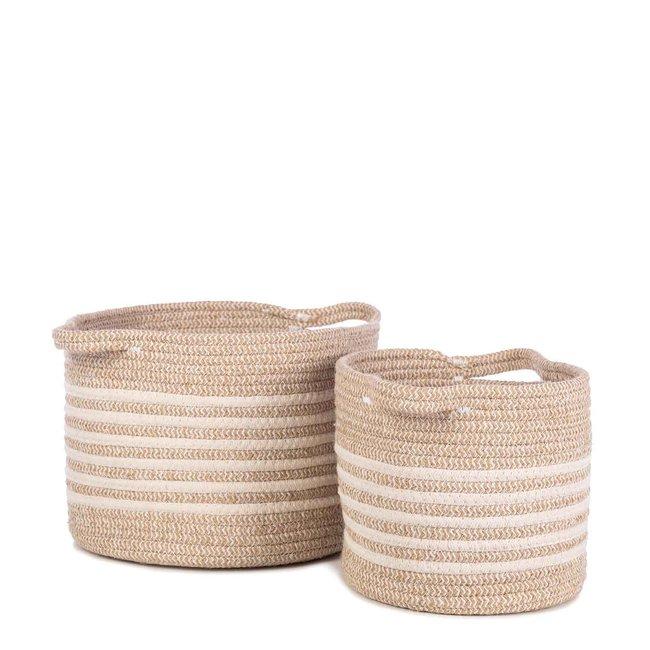 KidsDepot Storage Baskets Eran Beige