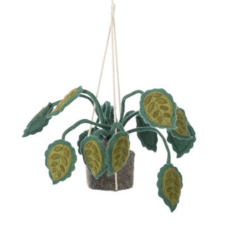 KidsDepot Hangplant Big Leaves Vilt