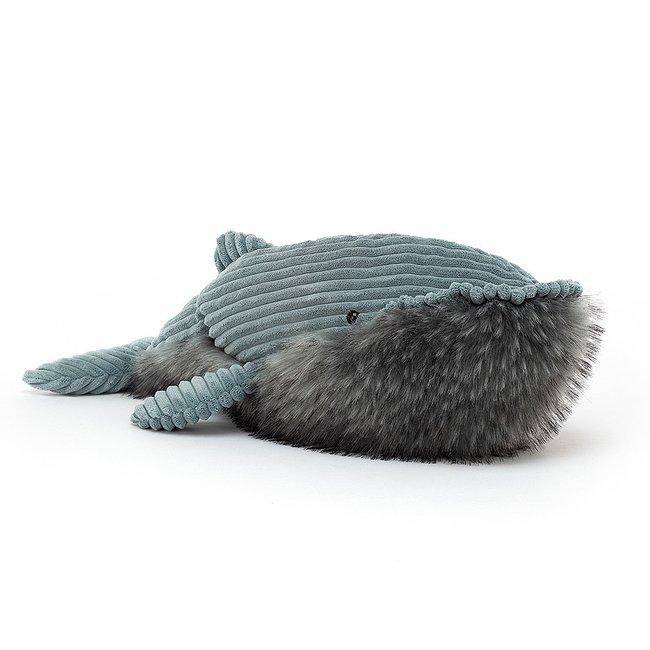 Jellycat Walvis Wiley 50 cm Blauw
