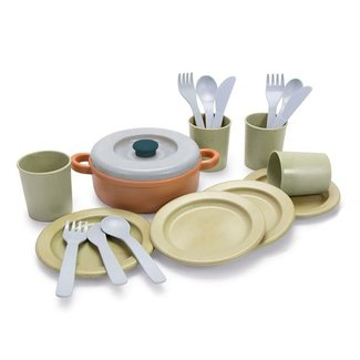Dantoy Tableware Set Bioplastic