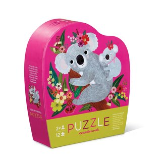 Crocodile Creek Puzzle Koala Cuddle 12 pieces