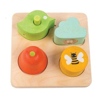 Tender Leaf Toys Audio Sensory Shapes
