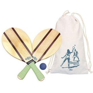 Vilac Vintage Wooden Beach Tennis Set