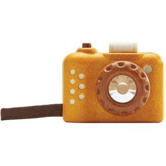 PlanToys Kamera Holz Ockergelb