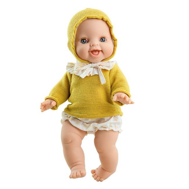 Paola Reina Puppe Gordi Anik Mädchen Gelb