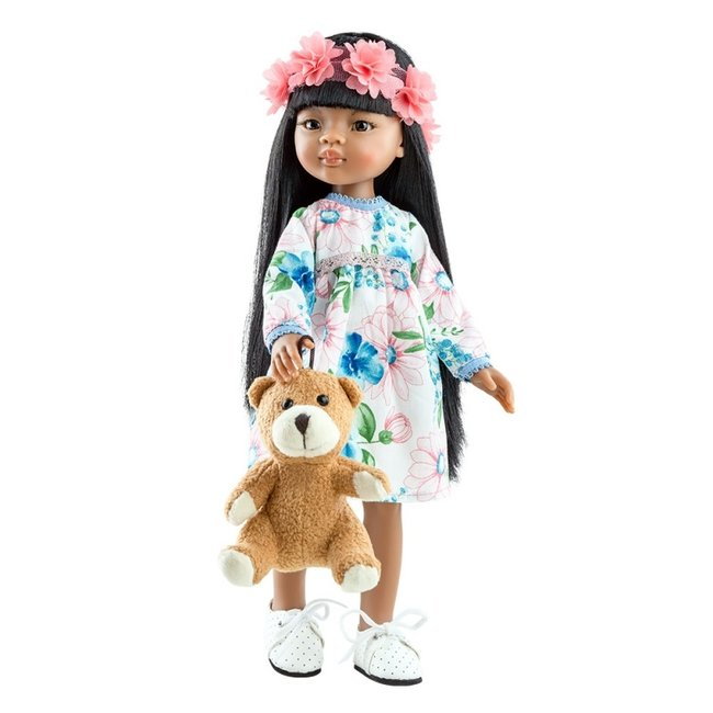 Paola Reina Doll Amigas Meily Teddy Bear