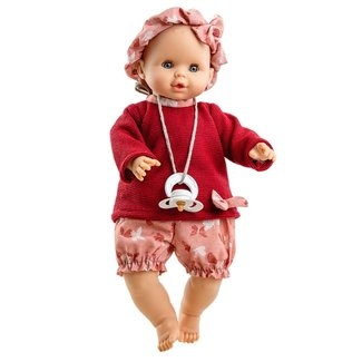 Paola Reina Doll Sonia Pacifier Crying Butterfly