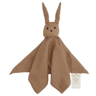 Konges Sløjd Knuffeldoekje Sleepy Rabbit Almond
