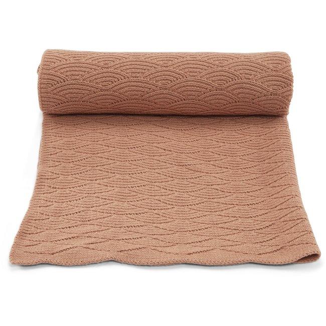 Konges Sløjd Baby Blanket Pointelle Brush Pink