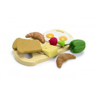 Dantoy Frühstücksbrett Green Garden Biokunststoff
