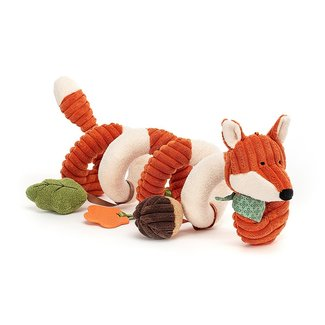 Jellycat Fuchs Aktivitäten-Spirale Cordy Roy Orange