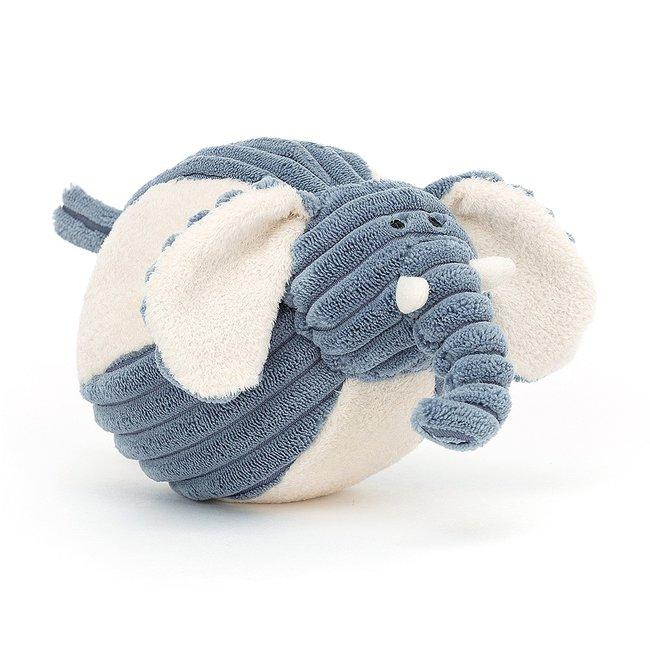 Jellycat Elefant Baby Ball Cordy Roy Blau