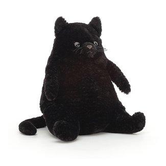 Jellycat Amore Katze Kuscheltier Schwarz 26 cm
