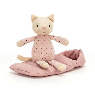 Jellycat Snuggler Cat Pink 23 cm
