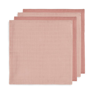 Jollein Bamboo Muslin Cloths Pale Pink 70x70 cm