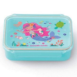 Crocodile Creek Lunchbox Zeemeermin Lichtblauw