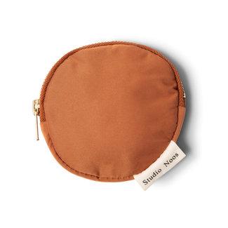 Studio Noos Puffy Wallet Rust Brown