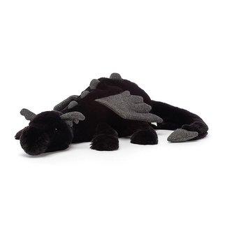 Jellycat Onyx Dragon Black Medium 50 cm