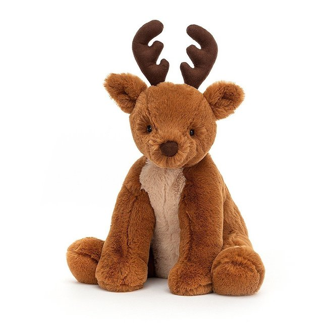 Jellycat Reindeer Remi Soft Toy Brown