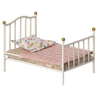 Maileg Vintage Bett MY Wieß