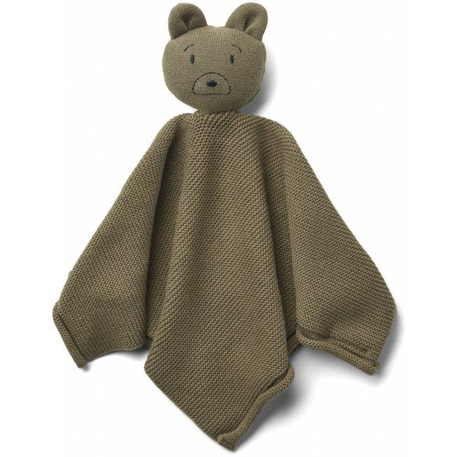 Liewood Schmusetuch Milo Mr. Bear Khaki